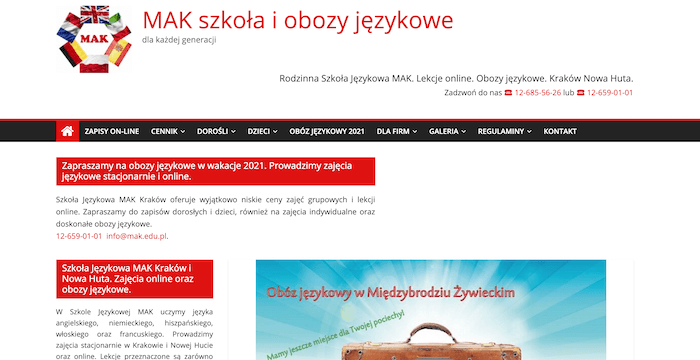 szkoła językowa Kraków
